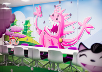 Las oficinas de Candy Crush