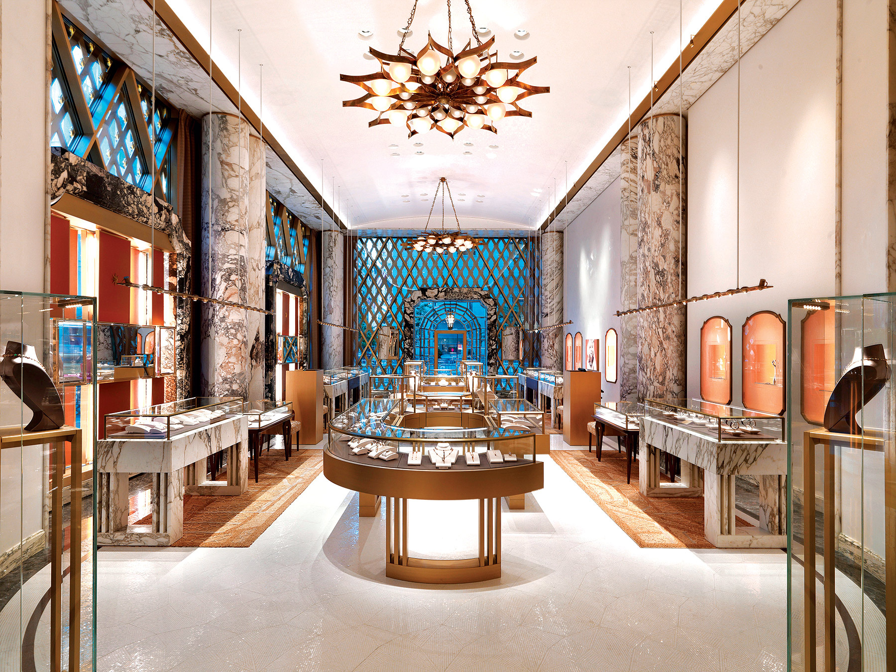 Boutique Bulgari en Nueva York por Peter Marino