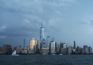 La arquitectura del nuevo World Trade Center en NUEVA YORK