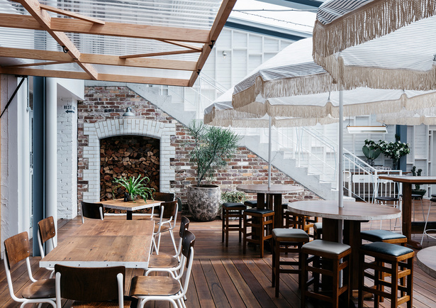 The Park House Food Merchants, un restaurante australiano entre almacén y loft