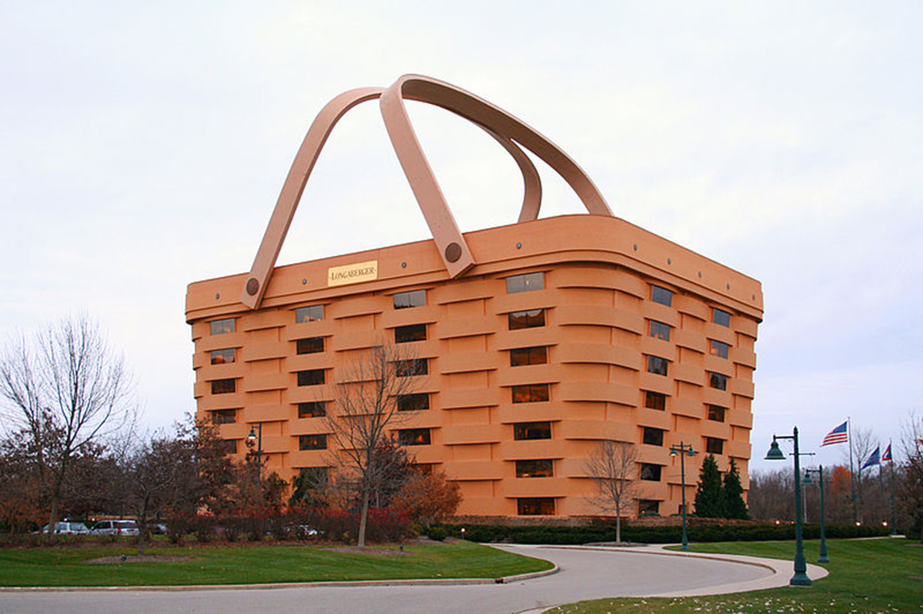 El antiguo edificio de la sede de Longaberger, Ohio