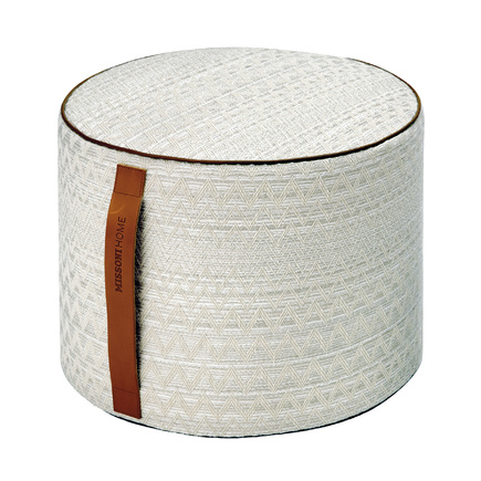 Pouf de Missoni Home.