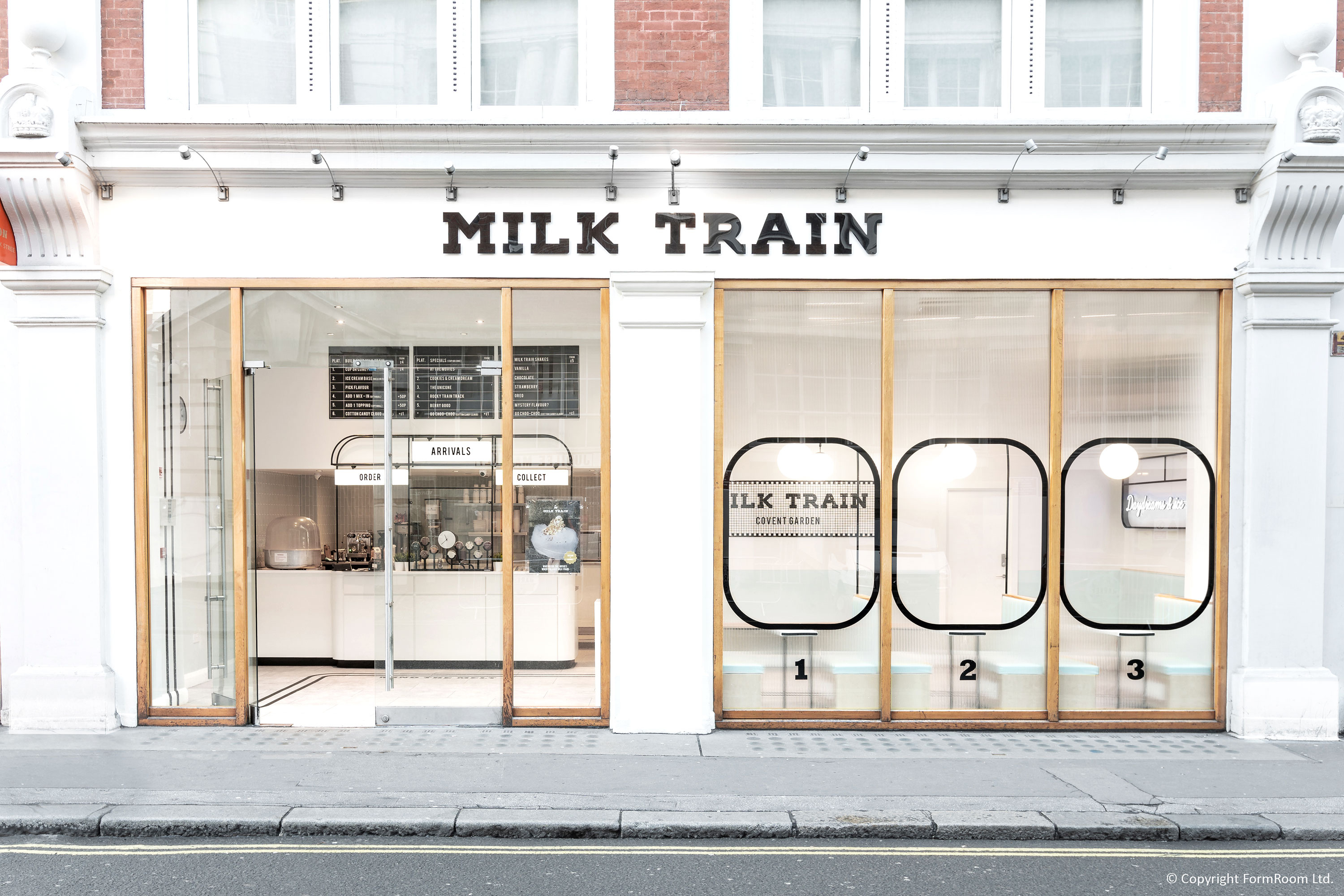 milk train un espacio de diseno innovador en la capital londinense